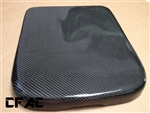 02 - 08 Dodge Ram 1500 2500 3500 Real Carbon Fiber Carbon Kevlar Hybrid Center Console Armrest Lid Cover