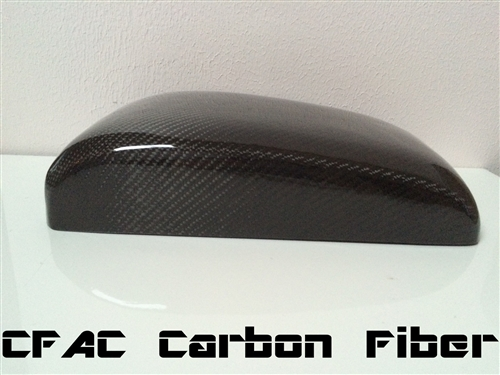 Infiniti G37 Coupe Real Carbon Fiber Kevlar Hybrid Center Console Armrest Lid Cover